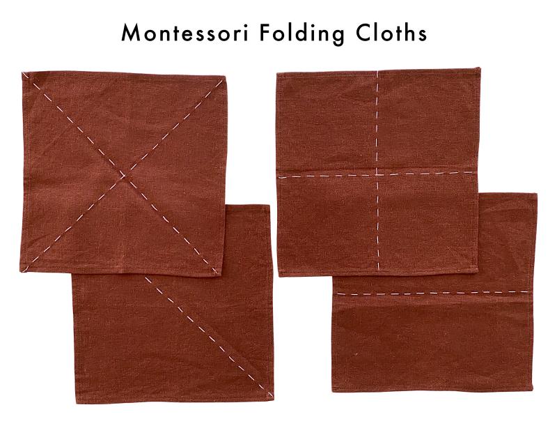 Montessori Folding Cloths at How we Montessori 3-6 (1)